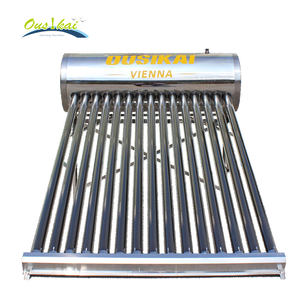 SUS304-2B Food Grade Stainless Steel Solar Thermal Sistem Pemanas Rumah