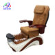 glass bowl 2015 wooden modern pedicure chair with magnet jet S822-8