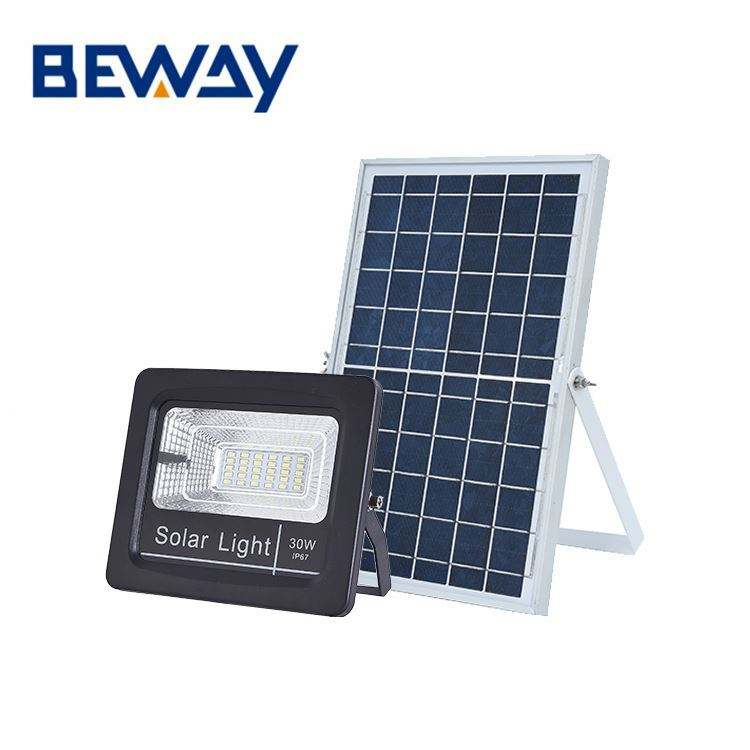 Hot selling aluminum garden waterproof IP67 20w 30w 60w 100w 200w solar led floodlight