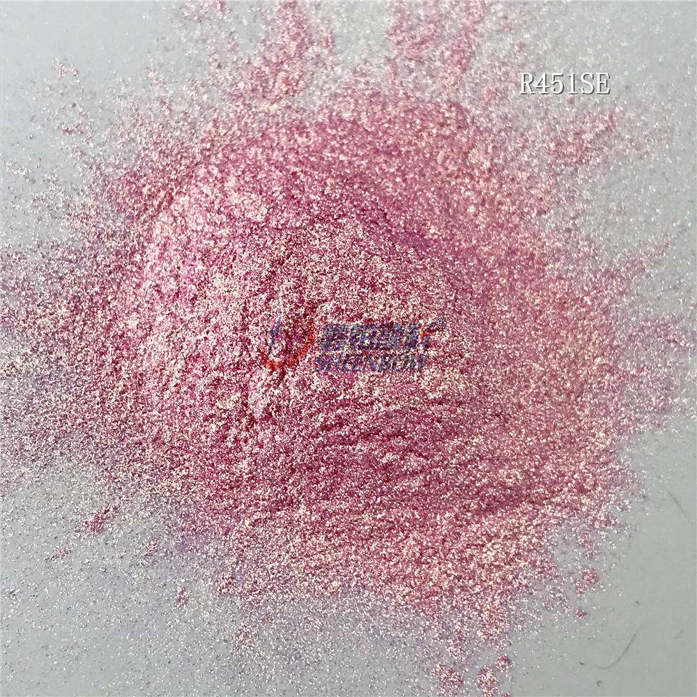 Sheenbow Mica Pigment Powder for eyes and lips Pearlescent Effect Pigments for cosmetics