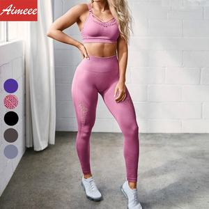 Yoga Fitness Sports Seats Women Hygroscopic And Sweat Releasing Workout Sets