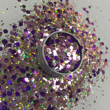 mixed glitter chunky glitter for body decoration