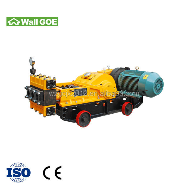 3SNS reciprocating single acting high pressure three-plunger pump