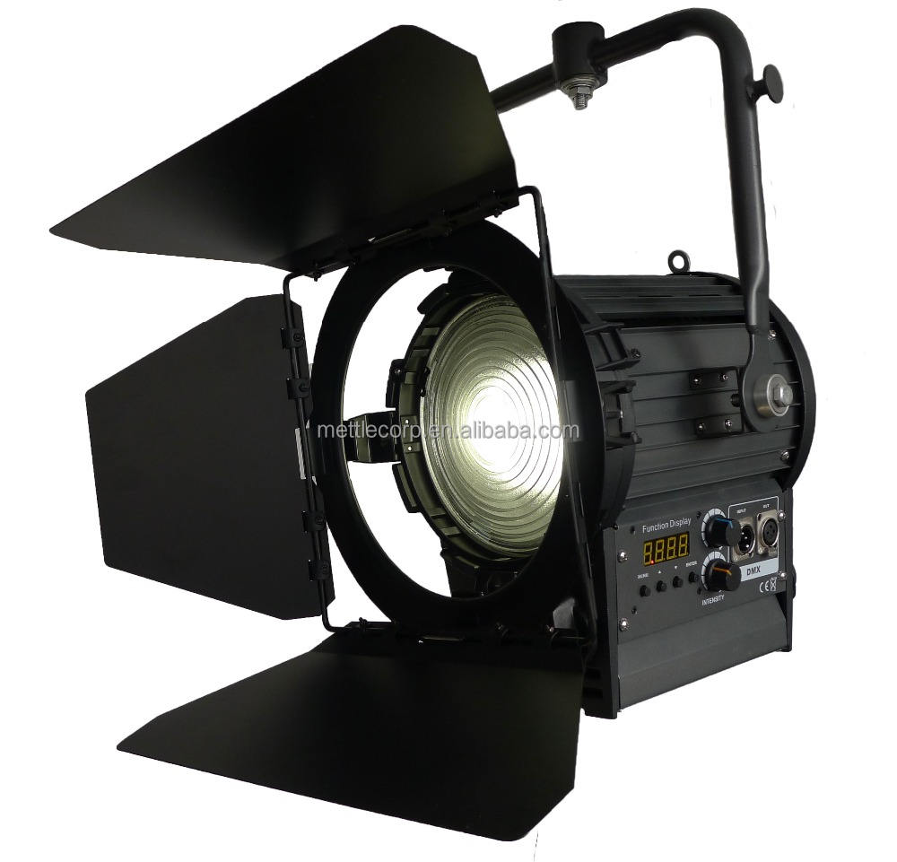 bi-color LED fresnel spot light for studio/film/TV/video--200W