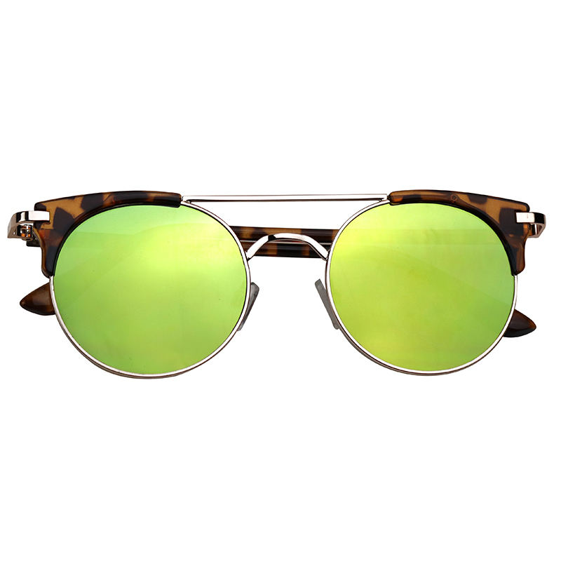 Best Sell Colorful Mirrored unisex Sunglasses retro sunglasses Goods ready