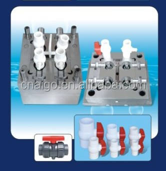 PP PPH PPB PPR PPRC pipe fitting mould plastic in Taizhou AIGO company