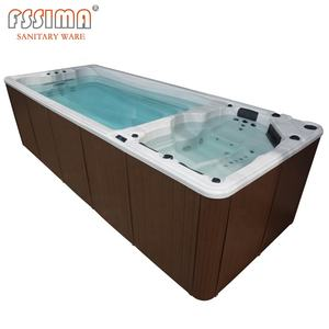 whirlpool jet spa endless swimming pool for house