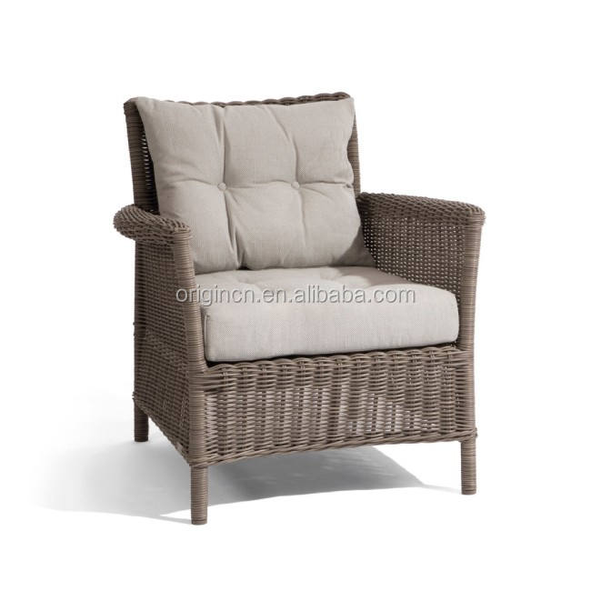 UK old fashion style outdoor rattan bar and lounge furniture american garden chair