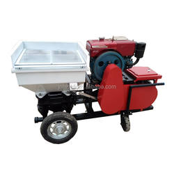 New Design Diesel Mortar Spray Paint Machine With Low Price