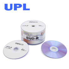 Cheap price PRINCO dvd blank dvd-r 4.7GB 16X virgin dvd records cd dvd manufacturing