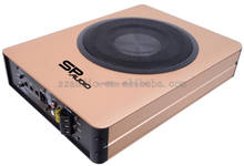 Good quality high power underseat subwoofer 8 inch under seat active subwoofer
