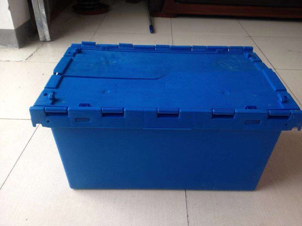 Foldable Plastic Crates Folding Storage Transparent Box