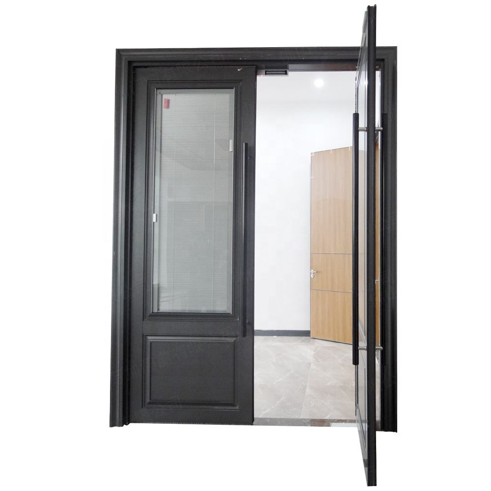 Aluminum Alloy Soundproof Windows And Doors,Glass Office Entry Doors