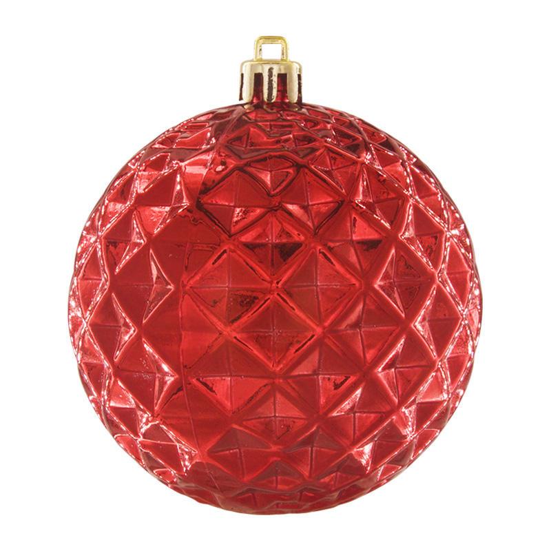 Xmas Item Balls Handcraft Christmas Mirror Mosaic Ball Decoration