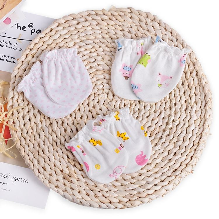 Redkite New Style Fashional Toddler Pure Cotton Soft newborn Baby Mitten Gloves