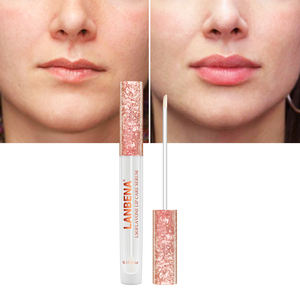LANBENA pink lip plumper enhancer isoflavone lip pump free shipping