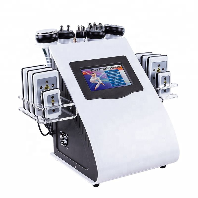 2021 Best Selling Weight Loss 40KHZ Cavitation RF Lipo Laser Pad Fast Slimming Machine Customized Logo Available