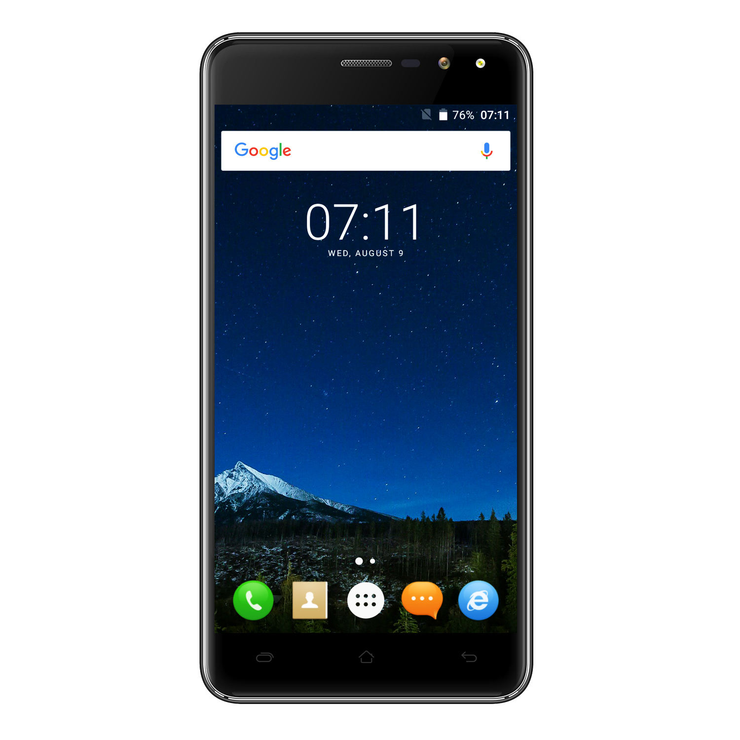 VKworld Cagabi One Mobile Phone 5.0 zoll HD MTK6580A <span class=keywords><strong>Quad</strong></span> Core Android 6.0 1GB RAM 8GB ROM 5MP Cam Dual Flash GPS Smartphone