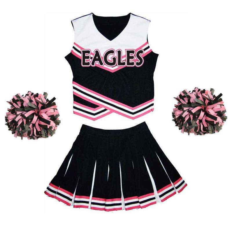 Adulto costumi cheerleading cheer leader uniformi cheerleading vestito