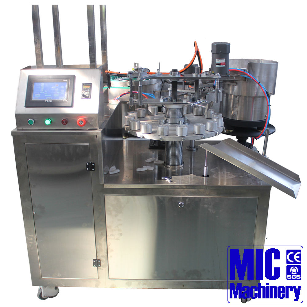 MIC-R502 automatic small dose 10ml 20ml 30ml bottle filling capping machine