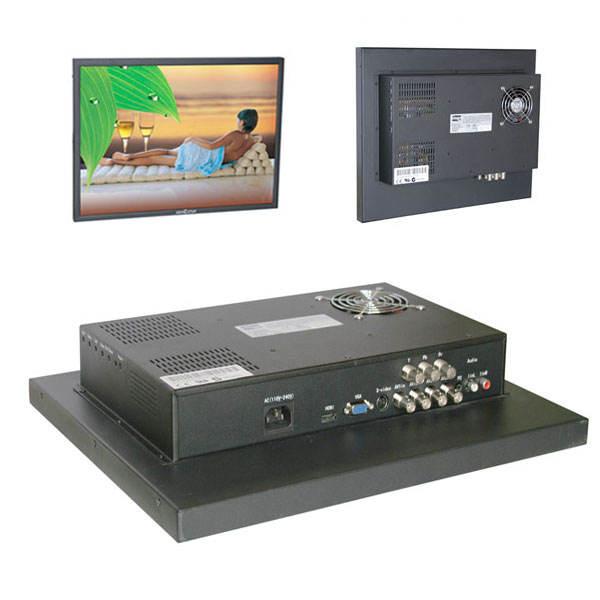 "19'' широкий экран наблюдения монитор, 19"" широкий tft жк-монитор"