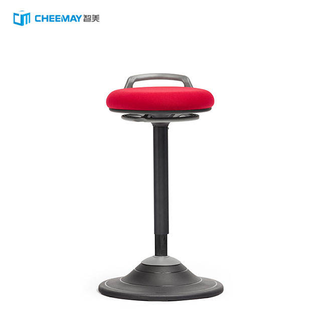 Standing Adjustable Height Active Sitting Balance Chair Swivel Stool