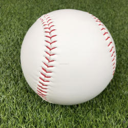 22 inch photo baseball Cheap Good White PVC leather softball Factory Supplier Wholesales