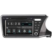 WITSON CAR DVD GPS PLAYER FOR HONDA CITY 2014 DSP STEERING WHEEL CONTROL CAPACITIVE SCREEN BACK VIEW