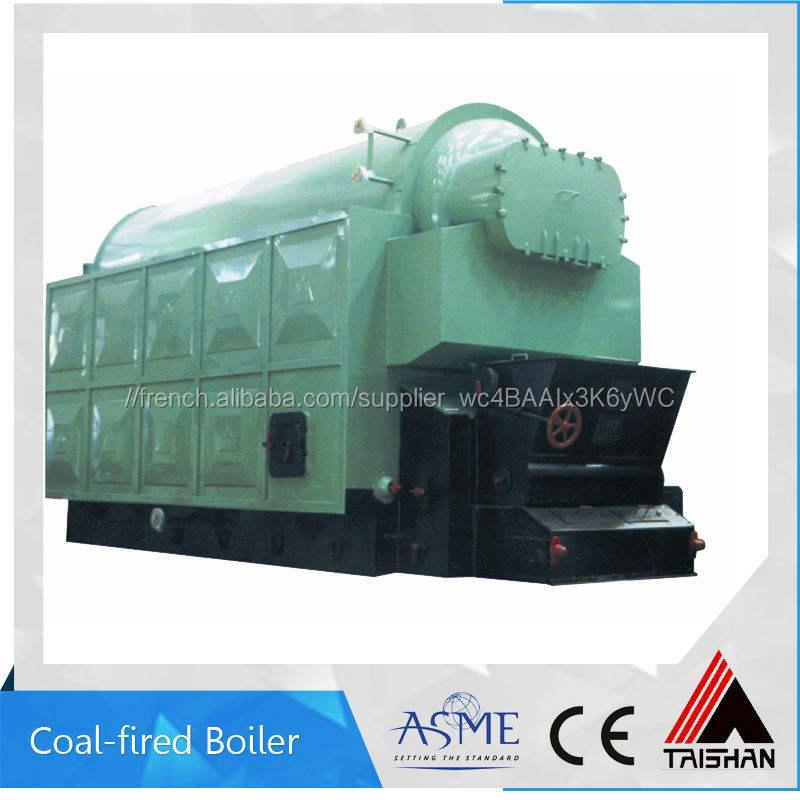 Au charbon, de pétrole et au <span class=keywords><strong>gaz</strong></span>, vapeur, chaudière à eau chaude