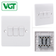 Competitive Price 10A 3 Gang 1 Way Electric wall Switch for Dubai