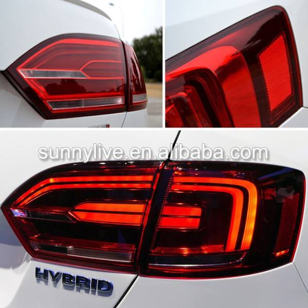 대 한 VOLKSWAGEN 2011-2014 년 대 한 Jetta MK6 Sagitar LED Tail 빛 Red Color <span class=keywords><strong>TC</strong></span>