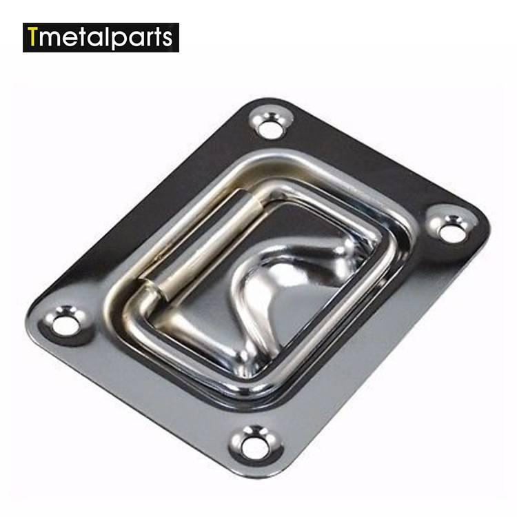 高品質金属埋め込み式フリップhandle/フライトケース部分/旅行ボックスハンドル