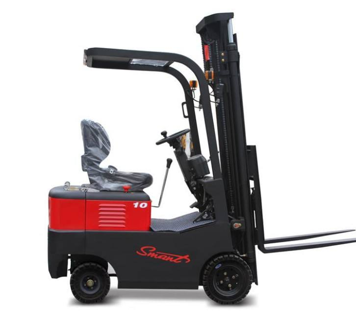 Mini battery forklift CPD10 electric forklift truck 1000kg with spare parts
