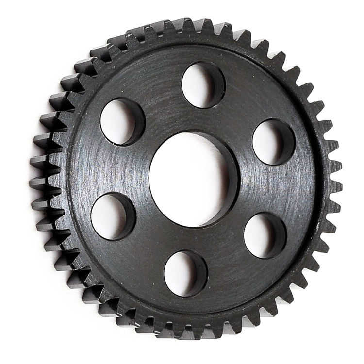 Precision cylindrical cast iron gear with CNC Hobbing