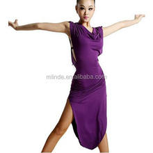 Women New Style Latin Dance Dress Latin Dance Practice Costume Adult Performance Skirt