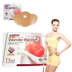 OEM Private Label effective  Wonder Tummy Slim Patch,belly body wraps