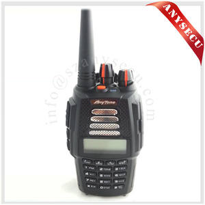 buy electronics directly from china tri-band ANYTONE AT-398UV hot sale handheld walkie talkie