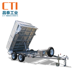 Hot Dipped Galvanised 8x5 Hydraulic Tipper Trailer ATM 3500KG