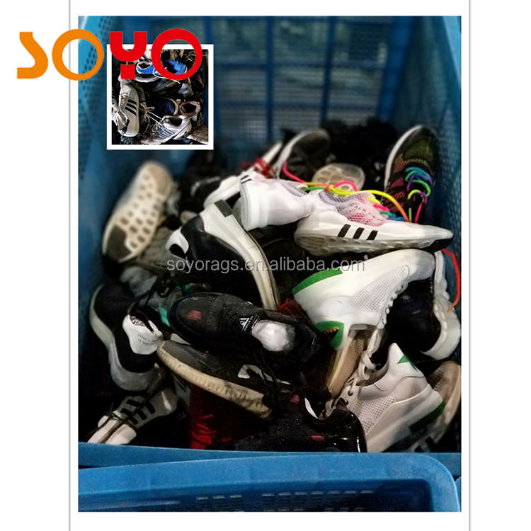 Popular african used shoes cheap price second hand shoes for sale