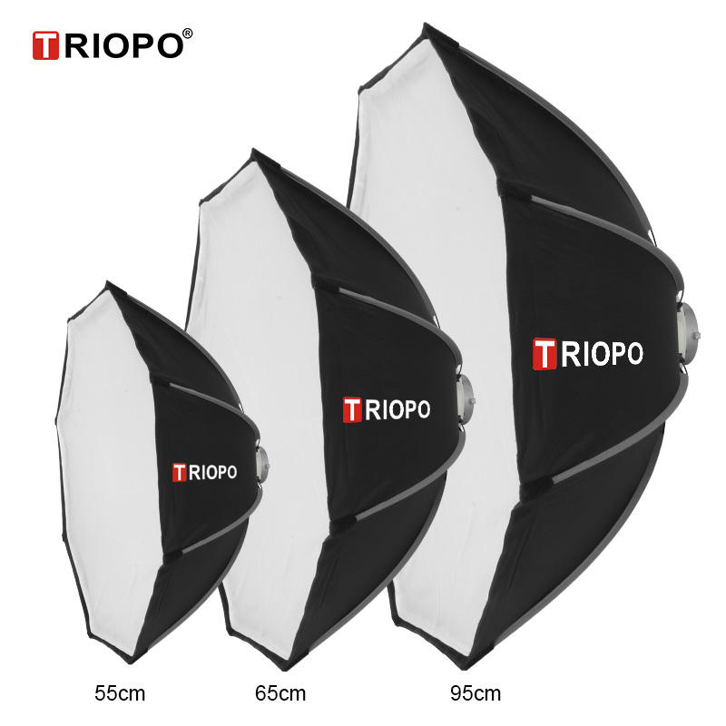 "Triopo 90cm/35"" Octagon Umbrella Softbox with Bowens Mount for Strobe Light"