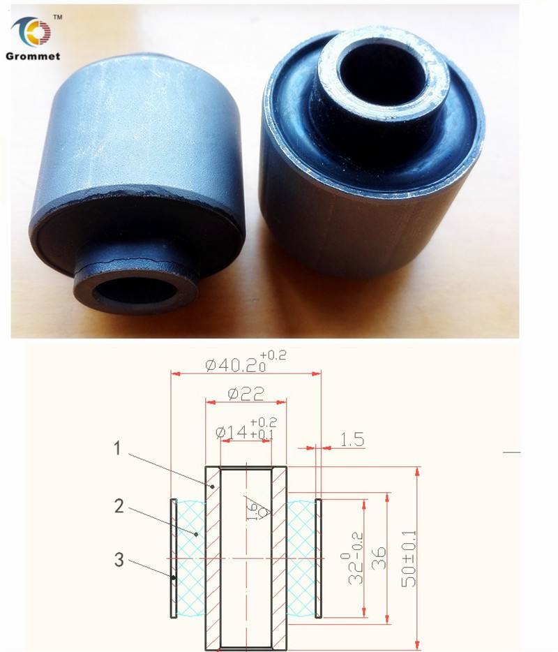 shock absorber bushing,buffer bushing,control arm bush assembly