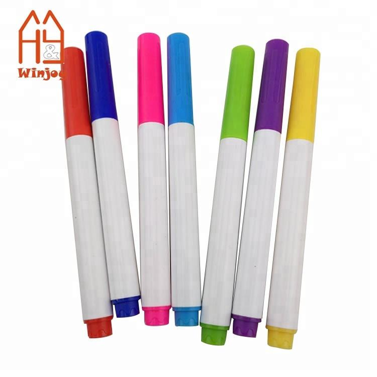 Plastic washable fabric textile color marker pen for T-Shirt