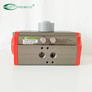 pneumatic double acting rotary actuator