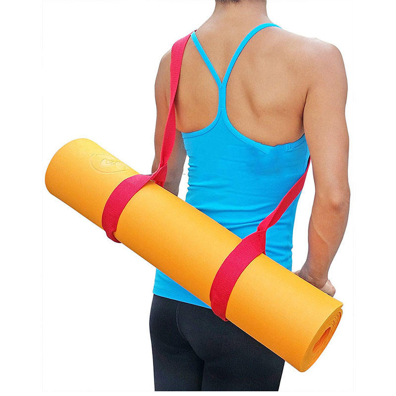 Portable carrying sports yoga mat carry strap