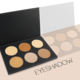 6 colors bronzing powder contour palette with private label