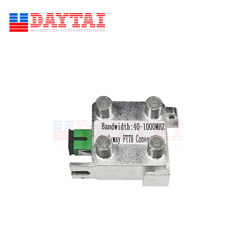 FTTH Passive 4 Way 1550nm CATV Optical Receiver Module