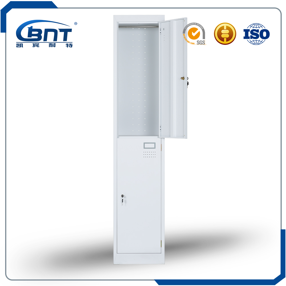 OEM manufacturer metal storage digital locker cabinet 2 door steel locker