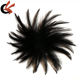 New round shape hackle feather pad