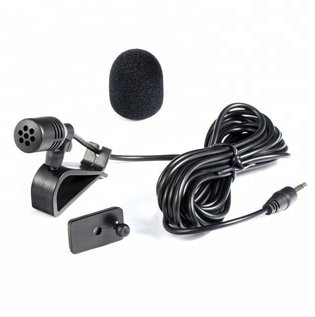 CM-015 Professional Car Kit Microphone with Clip Mount for Car Interior Handsfree Calling or DVD Player