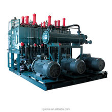 hydraulic pump station for railway lifting equipment
